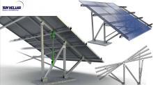 EUROPA SUN 350 Βάση φωτοβολταϊκών συστημάτων