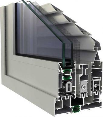 PRIMA 8000 Συρόμενο σύστημα αλουμινίου