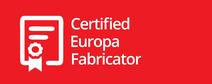 Europa certified fabricator logo
